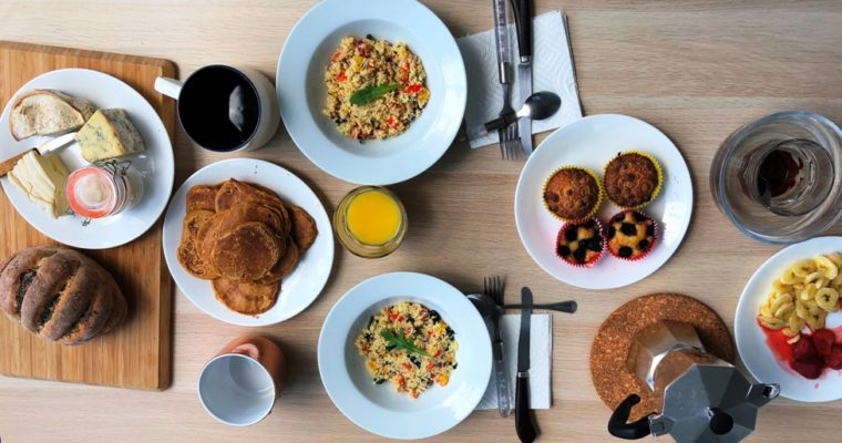 Brunch sain et gourmand – Acte 1